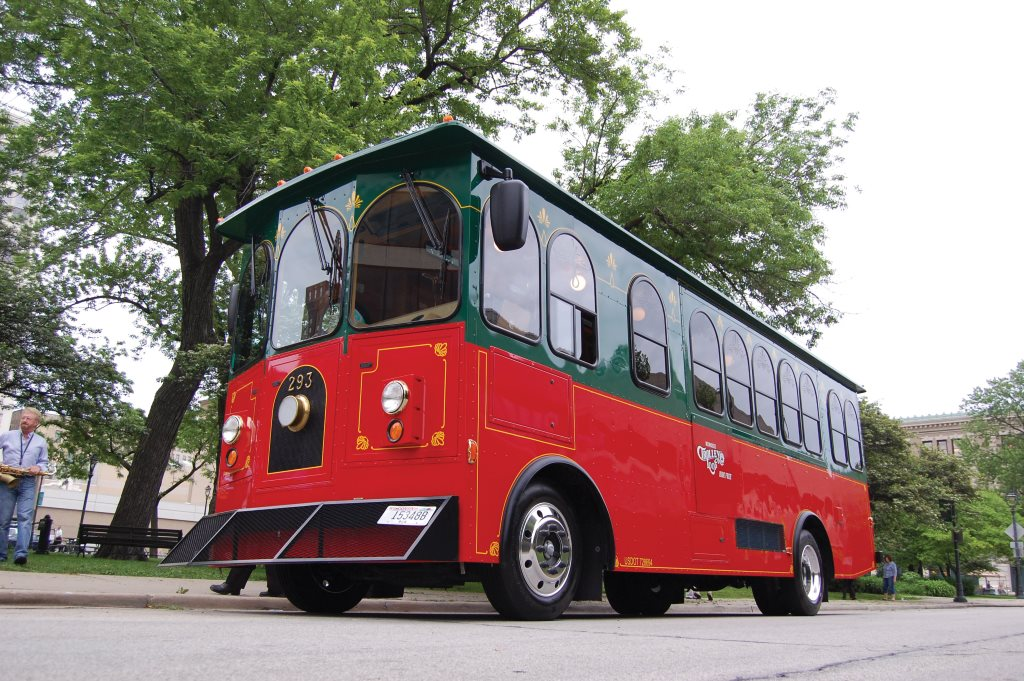 Milwaukee Trolley. Photo courtesy of Milwaukee Downtown.