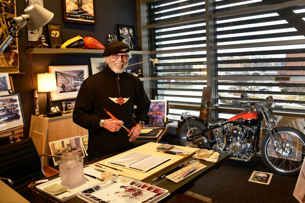 Willie G. Davidson. Photo courtesy of the Harley-Davidson Museum.