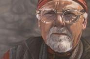 Painting of Rick Ryan