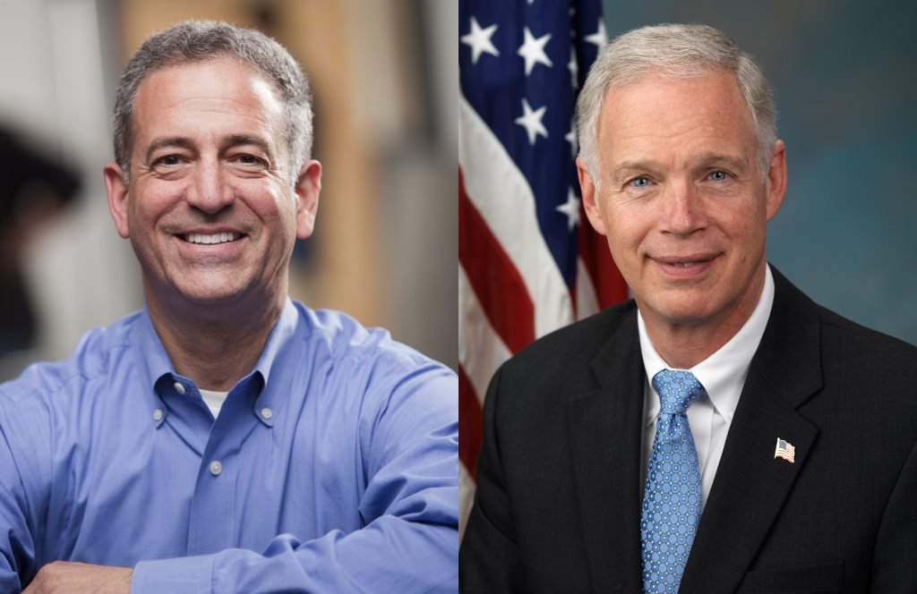 Russ Feingold and Senator Ron Johnson.