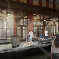 Broadway Market Lofts Rendering. Rendering by Continuum Architects.