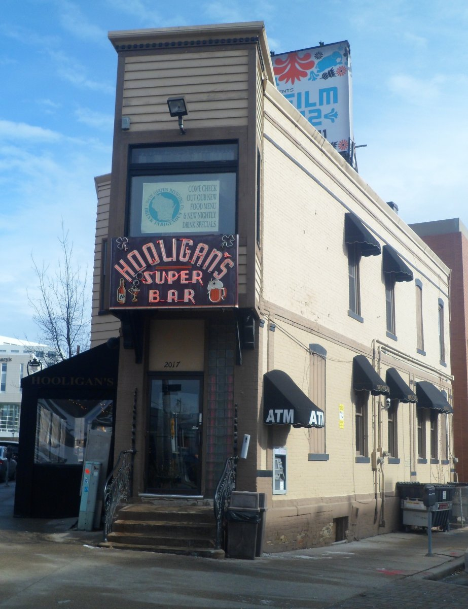 Hooligan's Super Bar. Photo taken January 19th, 2013 by Audrey Jean Poston.