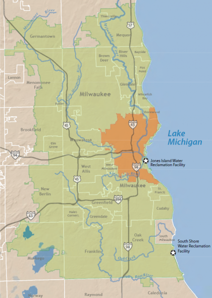 MMSD District Map