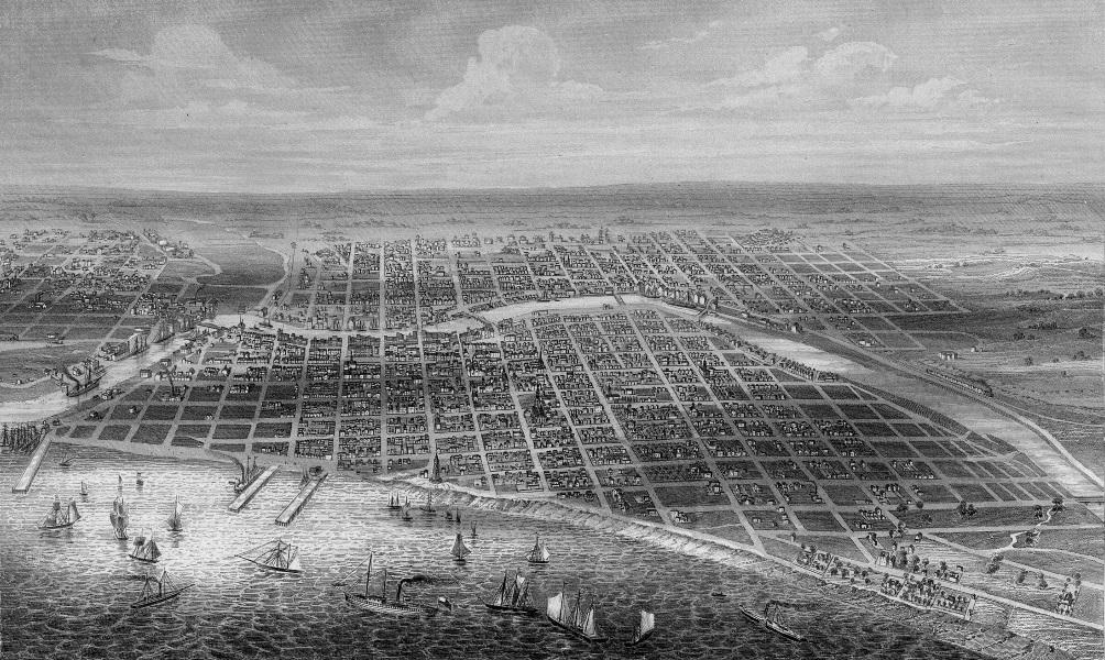 Milwaukee 1856. Image courtesy of Jeff Beutner.
