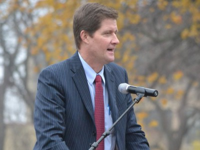 County Executive Chris Abele endorses DA John Chisholm