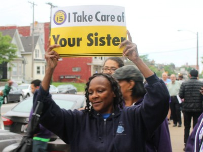 Home Care Workers Demand $15 Hour Pay