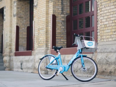 Bublr Bikes holds first fundraiser