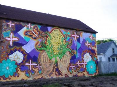 New Neighborhood Mural Created