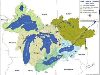 Public Overwhelmingly Opposed To Wisconsin's Great Lakes Diversion Proposal