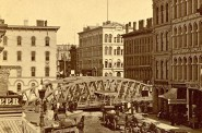 Wisconsin Avenue Bridge, About 1880