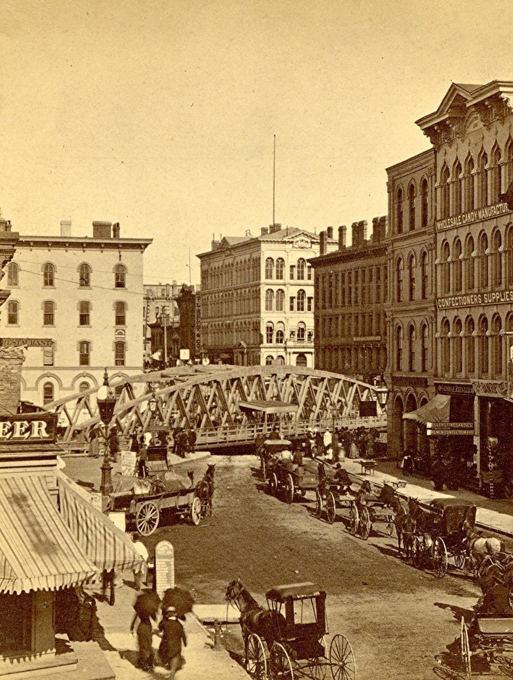 Wisconsin Avenue Bridge, About 1880