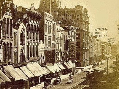 Yesterday's Milwaukee: Water Street in 1880