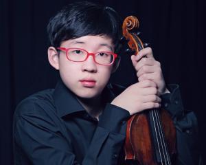 Violinist Julian Rhee