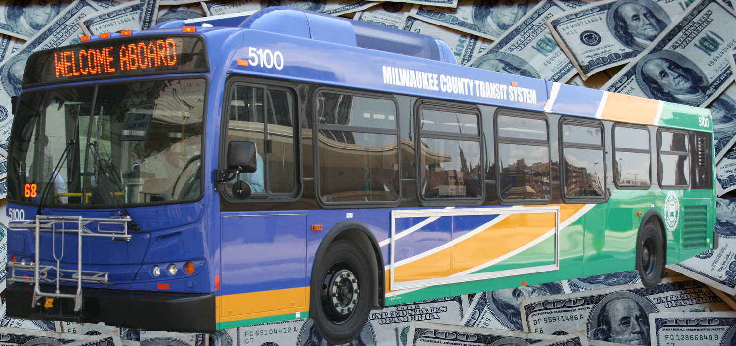 Milwaukee Country Transit System Bus