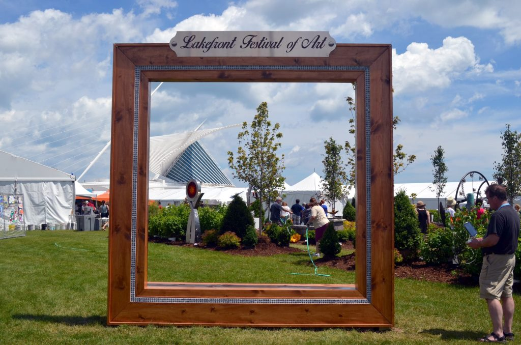 Lakefront Festival of the Art. Photo by Jack Fennimore.
