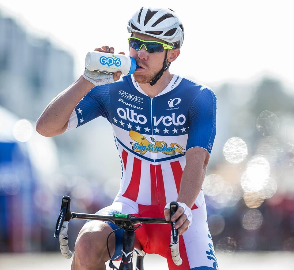 Cyclist Daniel Holloway