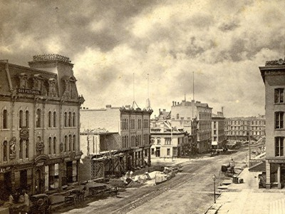 Yesterday's Milwaukee: Downtown Milwaukee, 1871