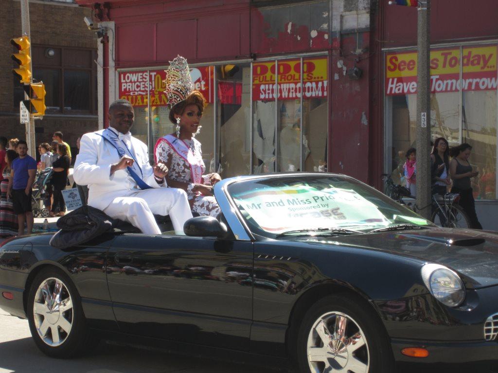 Mr. and Miss PrideFest 2014. Photo by Jeramey Jannene.