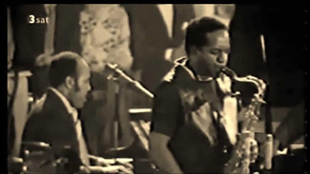 Les McCann and Eddie Harris at the Montreaux Jazz festival 1969.