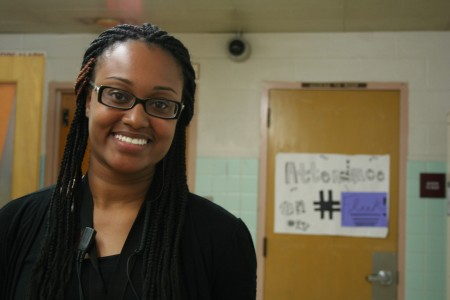 Tianna McCullough, Carver Academy's Instructional Coach for Culture, says the school's culture had to change. Photo by Jabril Faraj.