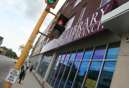 The Villard Square branch of the Milwaukee Public Library. Photo by Jabril Faraj.