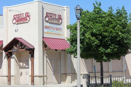 The building that once housed Stella's Restaurant has been vacant since 2010. Now a Milwaukee couple has plans to convert it into a full-service grocery store. Photo by Mark Doremus.