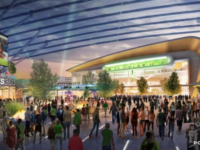 Bucks Announce Construction Team for Entertainment Block