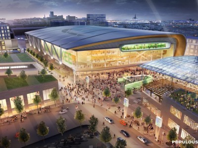 Governor Walker signs Bucks arena bill into law