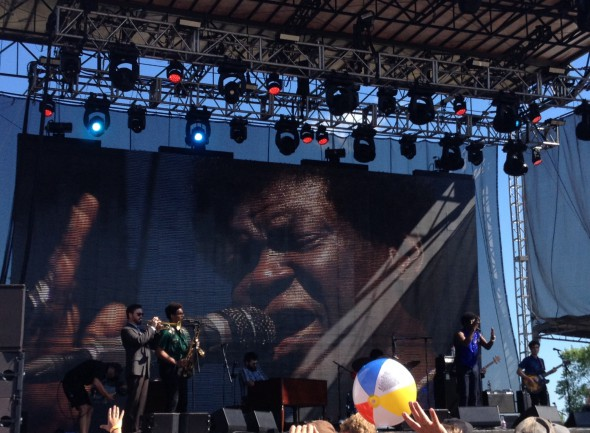 Charles Bradley. Photo by Joey Grihalva.