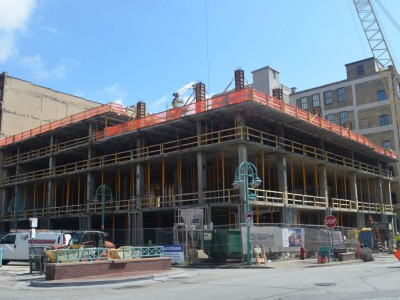 Friday Photos: Third Ward's Hotel Takes Shape