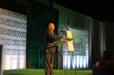 Earl Buford, Chief Executive Officer of Milwaukee Area Workforce Investment Board, Inc. Photo by Jack Fennimore.
