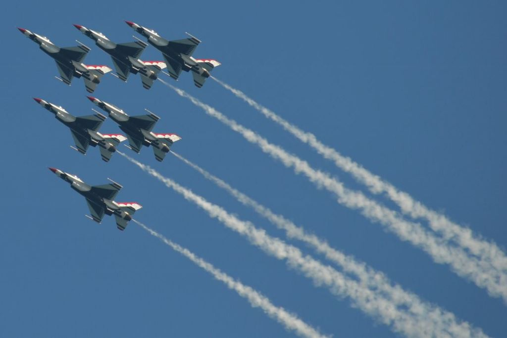 The Thunderbirds. Photo by Jack Fennimore.