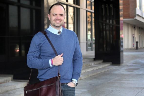 Dr. Jeremy Fyke. Photo courtesy of Marquette University.