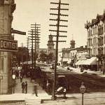 Yesterday's Milwaukee: Broadway North of Wisconsin, 1879