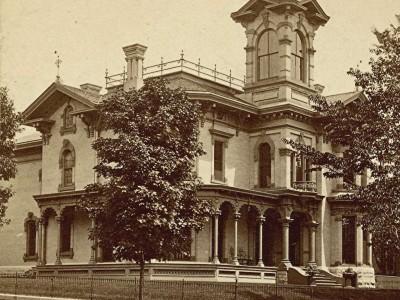 Yesterday's Milwaukee: Elias Friend Residence, 1879