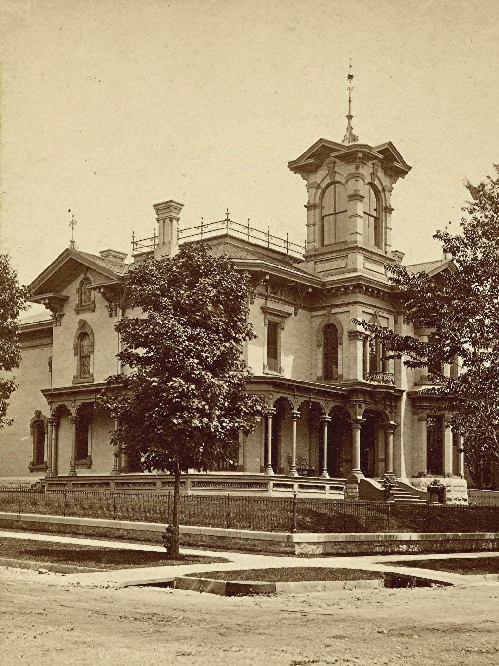 Elias Friend Residence, 1879. Image courtesy of Jeff Beutner.