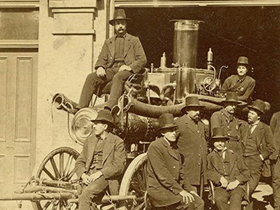 Yesterday's Milwaukee: Fire Fighters in Dress Suits, 1880