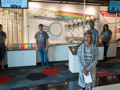 Discovery World and Rockwell Automation Unveil Brand New Music Factory Exhibit