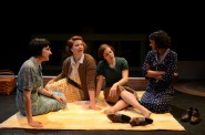 These Shining Lives: Libby Amato, Linnea Koeppel, Anna Figlesthaler, Jade Taylor. Photo by Jason Fassl.