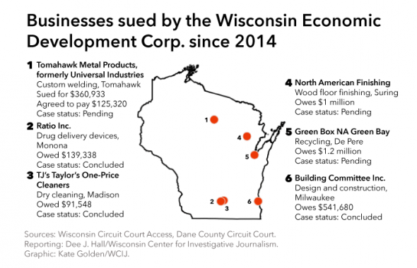 By Kate Golden of the Wisconsin Center for Investigative Journalism.