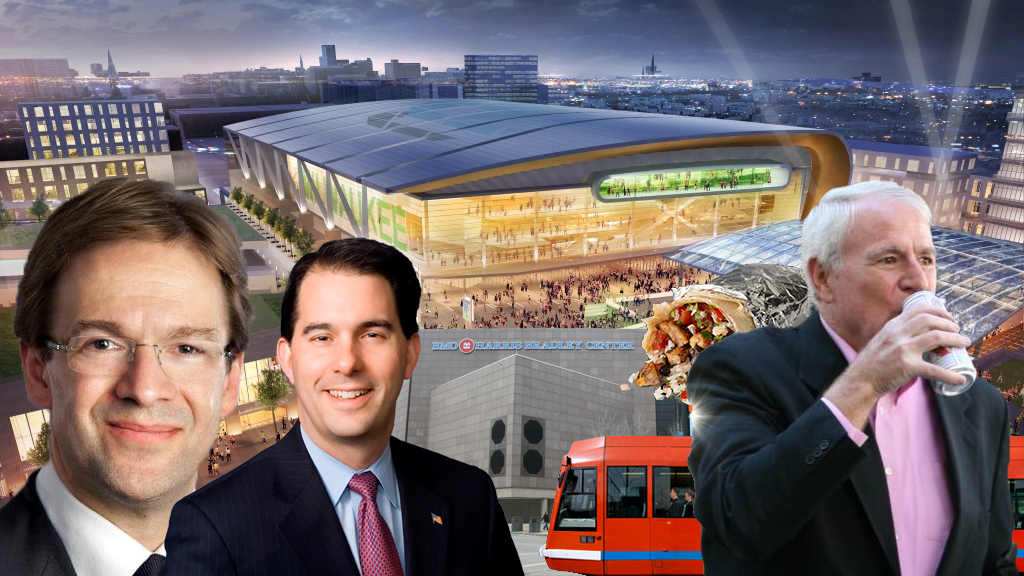 Bucks Arena Winners and Losers