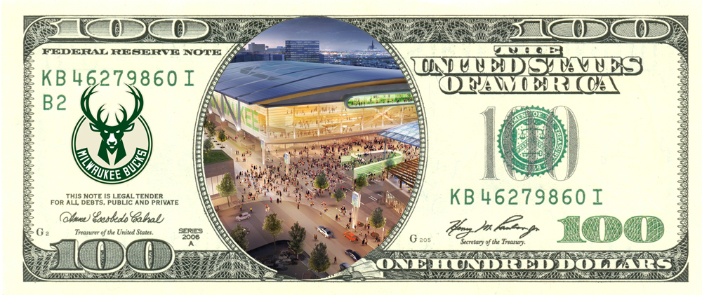 $100 Arena Bill