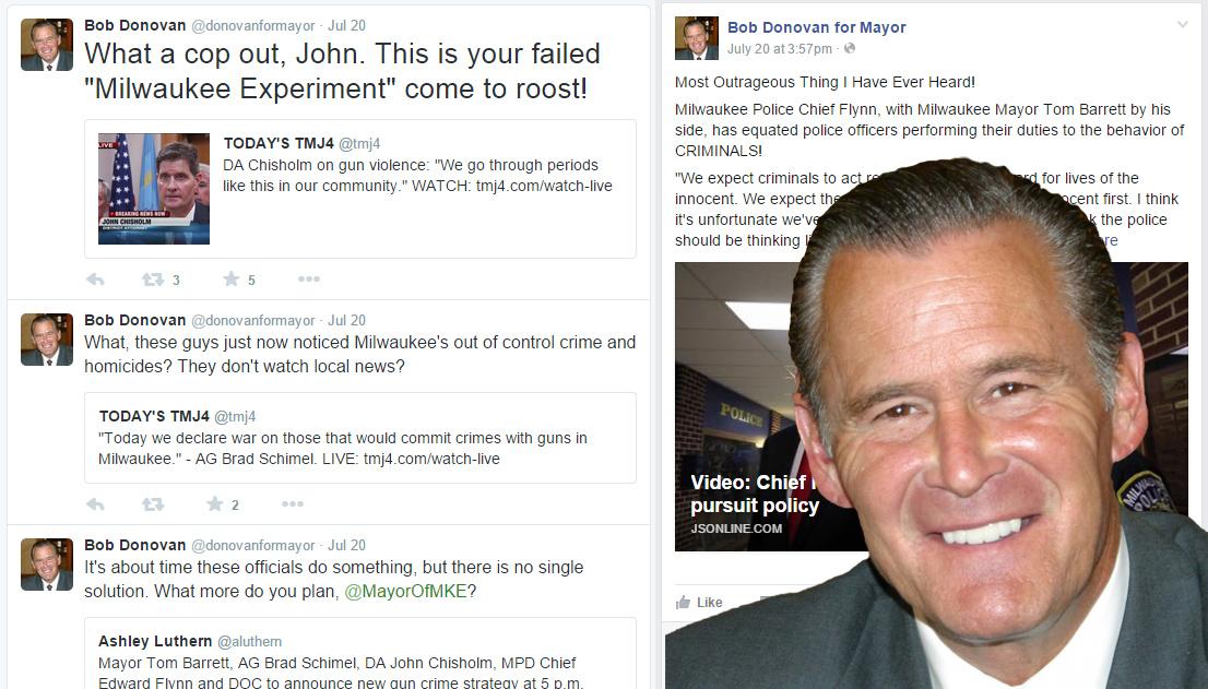 Bob Donovan on Social Media