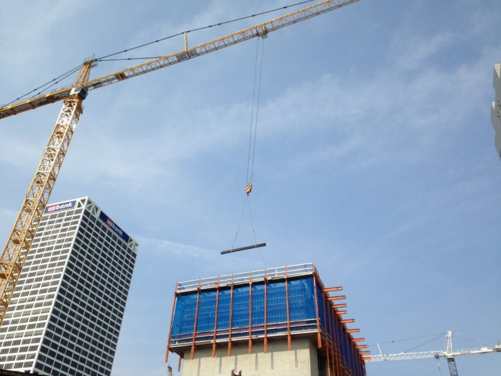 Friday Photos: Milwaukee's Biggest Building Rises