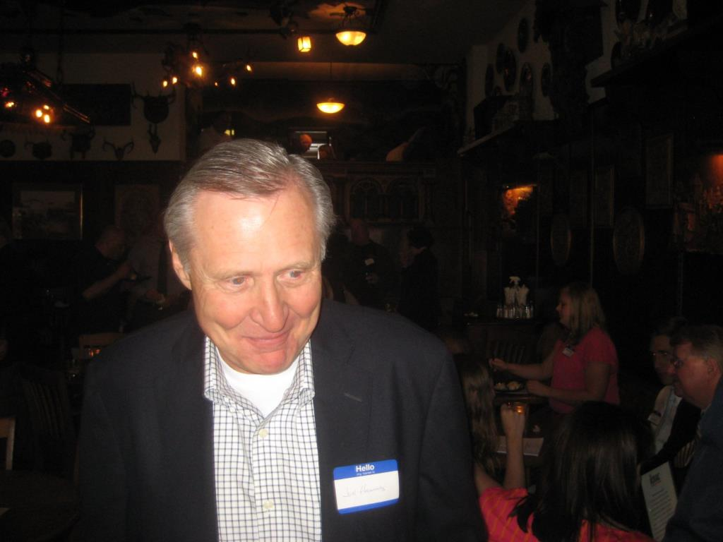 Jon Hammes at a fundraiser for Ald. Nik Kovac. Photo by Michael Horne.