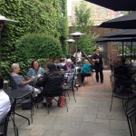 Dining: Lovely Patio Dining at Cafe at the Plaza