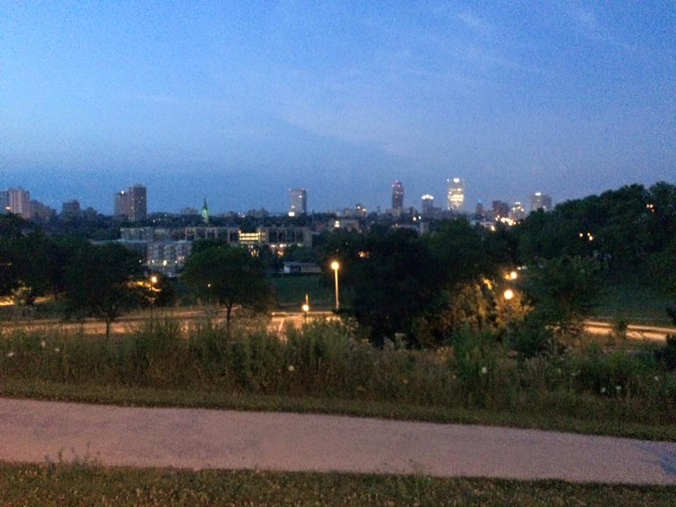 Skyline from Kilbourn Park