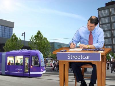 Eyes on Milwaukee: Scott Walker Aids Milwaukee Streetcar