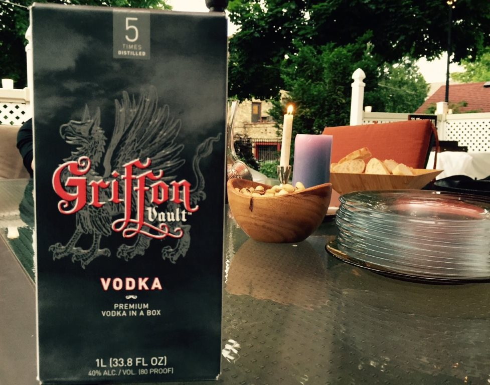 Griffon Vault Vodka. Photo from Facebook.