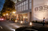 Rendering of the future home of RARE Steakhouse. Rendering by Kahler Slater.